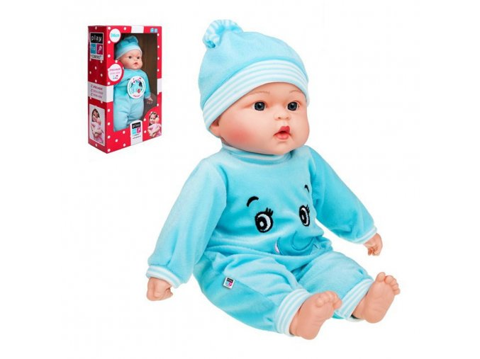 Česky hovoriaca a spievajúca detská bábika PlayTo Maruška 46 cm