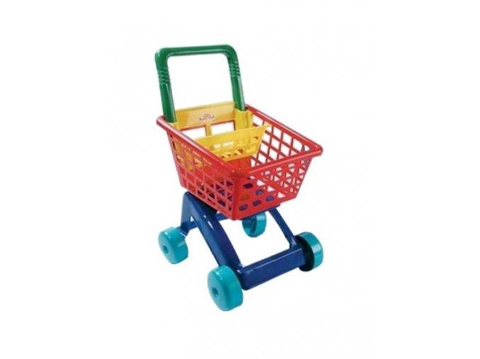 Detský nákupný košík - tyrkysový