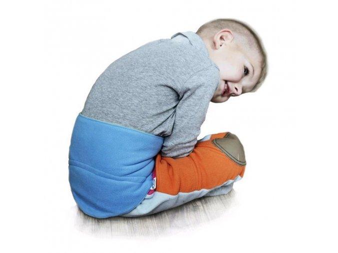 Detský bederňáčik 0-5 rokov VG modro-limetkový