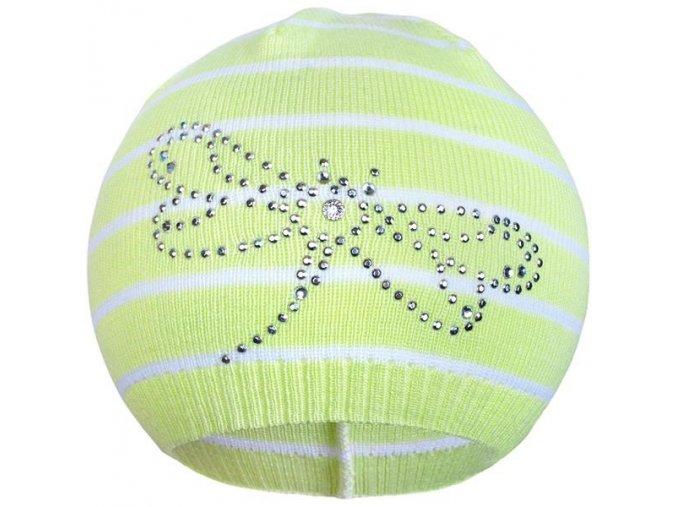 Jarná čiapočka New Baby vážka zelená