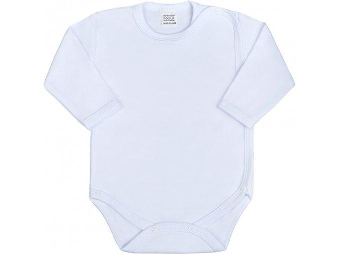 Dojčenské body celorozopínacie New Baby Classic biele