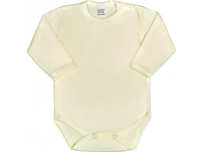 Dojčenské body celorozopínacie New Baby Classic béžove