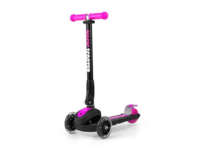 Detská kolobežka Milly Mally Magic Scooter pink