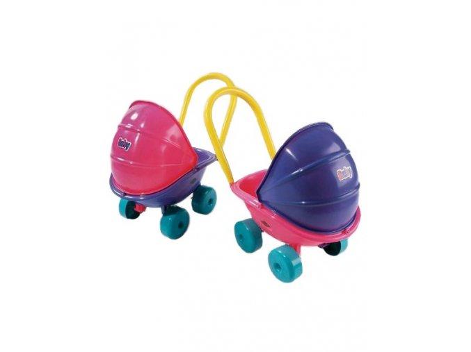 Kočík pre bábiky hlboký fialový