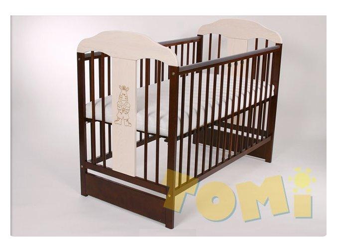 Detská postieľka Tomi XVI s posúvacím bokom