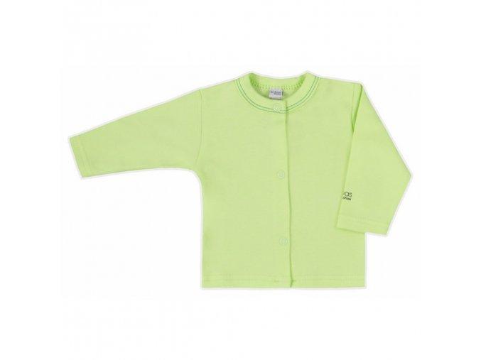 Dojčenský kabátik Bobas Fashion Mini Baby zelený