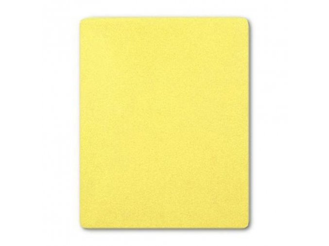 Nepremokavé prestieradlo New Baby 120x60 žlté