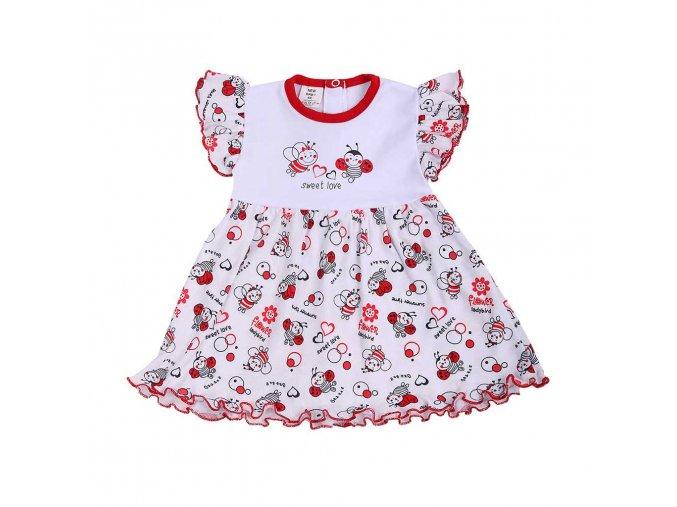 Dojčenské šaty New Baby Lienka