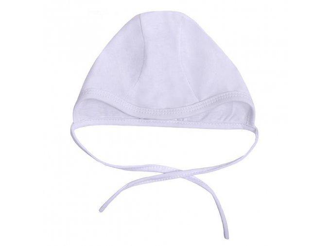 Dojčenská čiapočka New Baby biela