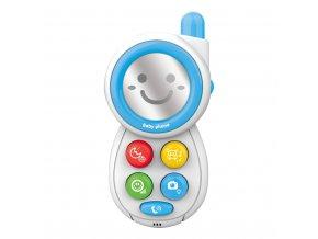 Detská hračka so zvukom Bayo Telefónik modrý