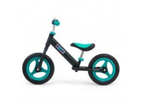 Detské odrážadlo bicykel Milly Mally Sonic Black-Mint