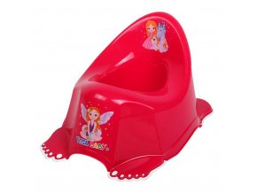 Detský nočník protišmykový Malá Princezná ružový