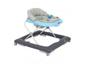 Detské chodítko Baby Mix grey-blue