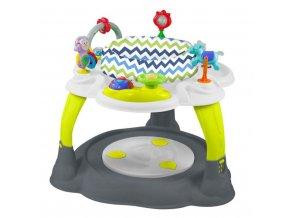 Multifunkčný detský stolček Baby Mix zeleno-sivý