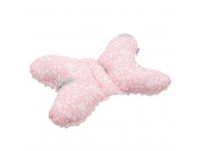 Stabilizačný vankúšik New Baby Králičky ružový