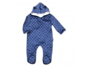 Dojčenský overal z Minky Nicol Bubbles modrý
