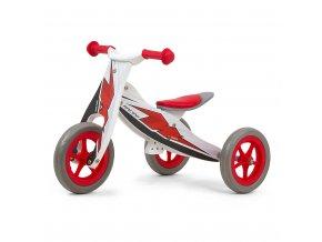 Detské multifunkčné odrážadlo 2v1 Milly Mally Look Racing