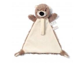 Uspávačik Baby Ono Otter Maggie s pútkom pre cumlík