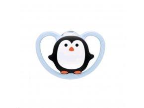 Cumlík Space NUK 0-6m penguin