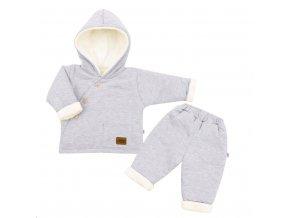 2-dielna zimná dojčenská súprava New Baby Best Winter