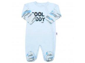 Dojčenský overal New Baby With Love modrý