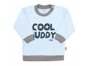 Dojčenské tričko New Baby With Love modré
