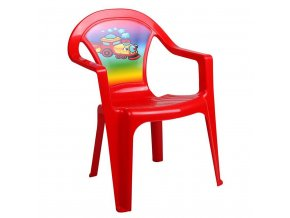 Detský záhradný nábytok - Plastová stolička