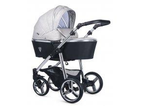 VENICCI - Special Edition Silver Wild Grey 2021 + zľava až do výšky-100 eur / napíšte nám  Iba u nás Náhradný kočík pri reklamácii / ku kočíku zľava-20% na ostatný tovar až 2 roky