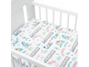 2-dielné posteľné obliečky New Baby 100/135 cm vláčik