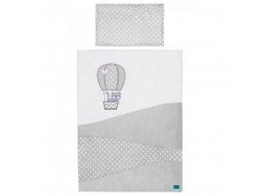 2-dielne posteľné obliečky Belisima Balón 90/120 biele