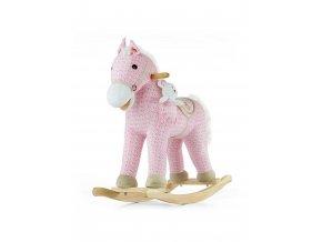 Hojdací koník s melódiou Milly Mally Pony ružový