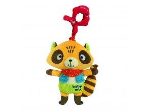 Detská plyšová hračka s hracím strojčekom Baby Mix Mýval