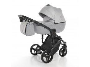 Junama Fashion 01 Silver 2021 + zľava až do výšky-100 eur / napíšte nám  Iba u nás Náhradný kočík pri reklamácii / ku kočíku zľava-20% na ostatný tovar až 2 roky