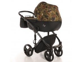 Junama Fashion Pro Army 2021 + zľava až do výšky-100 eur / napíšte nám  Iba u nás Náhradný kočík pri reklamácii / ku kočíku zľava-20% na ostatný tovar až 2 roky