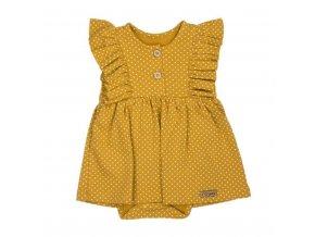 Dojčenské šatôčky-body s krátkym rukávom Nicol Michelle