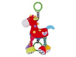 Detská plyšová hračka s vibráciou Baby Mix Koník