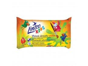 Detské vlhčené obrúsky Linteo Baby Kids 15ks