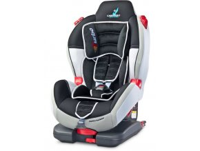 Autosedačka CARETERO Sport TurboFix grey 2016