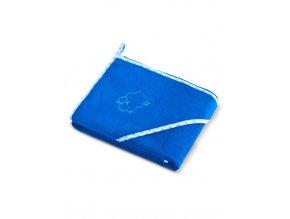Detská osuška Sensillo Ovečka 80x80 cm modrá
