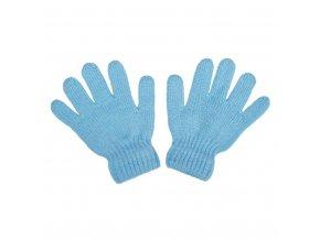 Detské zimné rukavičky New Baby svetlo modré