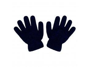 Detské zimné rukavičky New Baby tmavo modré