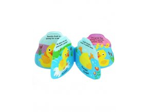 Detská pískacia knižka do vody Baby Mix kačička