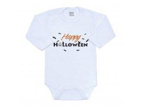 Body s potlačou New Baby Happy Halloween