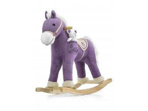 Hojdací koník s melódiou Milly Mally Pony fialový