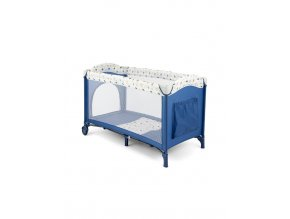 Cestovná postieľka Milly Mally Mirage blue blue-white
