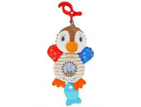 Plyšová hračka s vibráciou Baby Mix tučniak