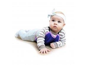 Detská plazička VG malinovo-ružová