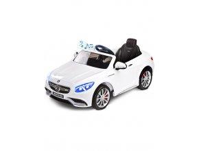 Elektrické autíčko Toyz Mercedes-Benz S63 AMG-2 motory white