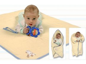 Detská multifunkčná deka 3v1