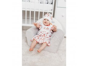 Detská bavlnená čiapočka New Baby Lienka